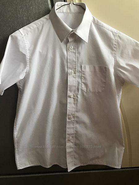 Рубашка в школу с коротким рукавом Mark&Spencer