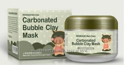 Очищающая пузырьковая маска BIOAQUA Carbonated Bubbled Clay Mask