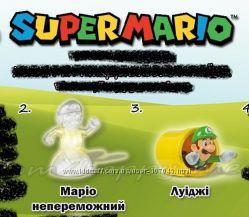 Игрушки из Макдональдс Марио, Смурфики
