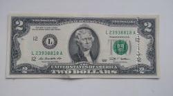 Продам банкноты номиналом в 2 доллара. Два доллара - легендарная банкнота