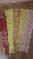 Ткань жаккардовая с золотой нитью для пошива диванных подушек