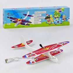 Планер, самолет с мотором , зарядка USB