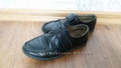 Школьные туфли, кожа, по стельке 19, 5 см