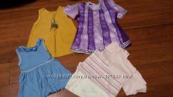 Пакет одежды на девочку 1-2 года, костюм на меху, платья и др