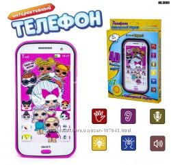 Интерактивный телефон, смартфон, Лол, Щенячий патруль и т. д. - 5 видов