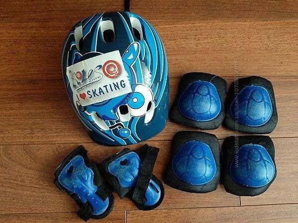 Ролики детские Explorer Nubira на 27-31р шлем защита