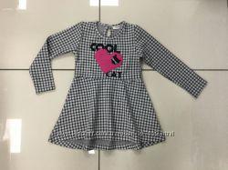 Платье с сердцем 98-128 см BREEZE, Турция