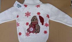 Новогодний свитер для мальчика и девочки