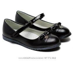 Школьные туфли для девочки, размер 32-37