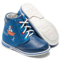 Демисезонные ботинки для мальчика, размер 22-26