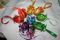 Пасхальные яйца писанки для декора. В наличии