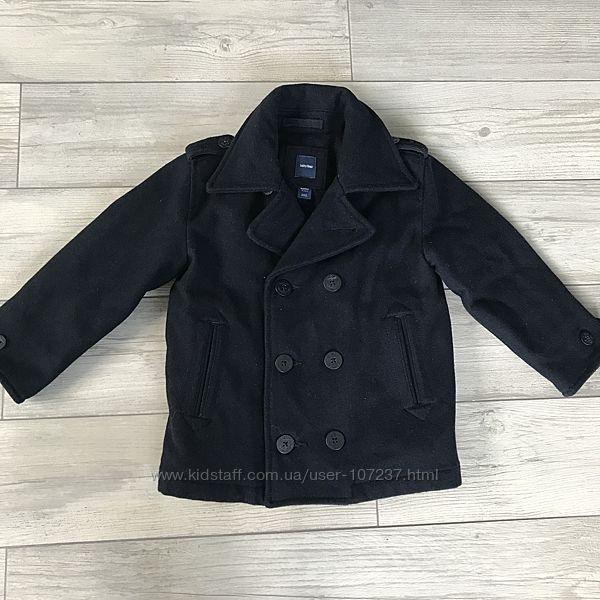Шерстяное пальто Gap 4т