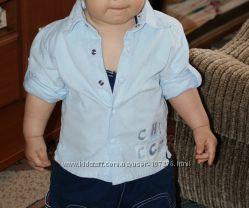 Стильная рубашечка Chicco на мальчишку