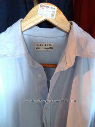 Рубашка zara  в школу. 164 разм.
