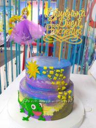 Топпер в тортик принцессы дисней