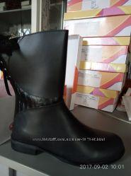 Демисезонные ботинки Фламинго кожа