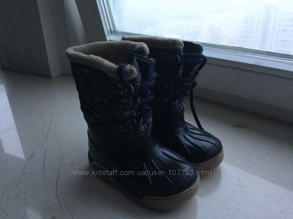 Детские сапоги Dolce Gabbana 25р