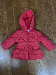 Демисезонная теплая куртка Little me США