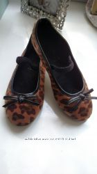 Туфельки Monsoon леопард на девочку