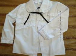 Новая  оригинальная блуза в школу на рост 116