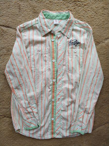 Рубашка стильная р152, s. Oliver, Индия