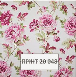 Рулонные шторы с цветочным принтом от производителя