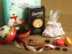 Новогодние наборы чая и кофе
