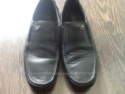 Модные, стильные кожаные туфли для мальчика