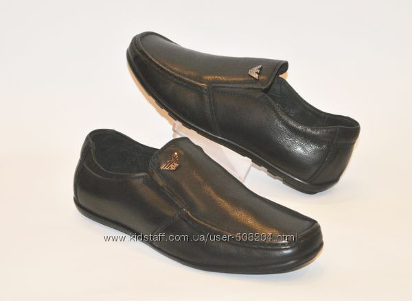Модные, стильные кожаные туфли Турция мокасины Армани