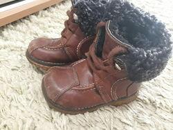 Зимние ботинки р. 22 бу за символическую цену