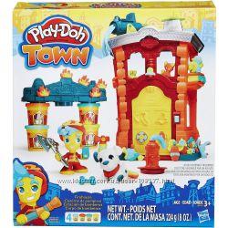 Набор Play-Doh Town Firehouse оригинал