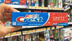 Зубная паста для деток Crest Kids Cavity Protection Sparkle Fun  130 г.