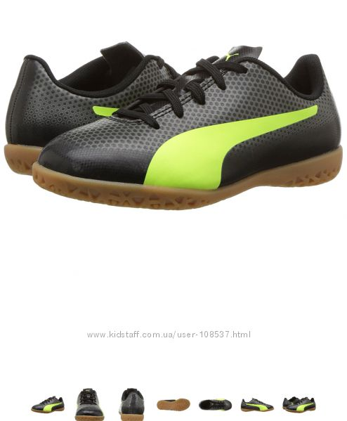 Футзалки PUMA Kids&acute Spirit Soccer Shoe 13 Сша