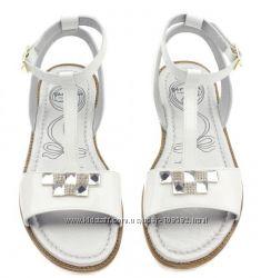 Garvalin Испания легкие удобные кожаные сандалии 32р. 20, 5см