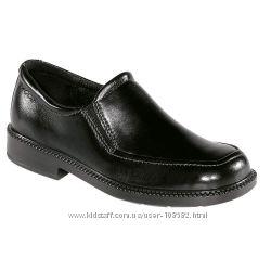 Акция. Ecco Junior оригинал школьные кожаные туфли классика р. 28 18см.