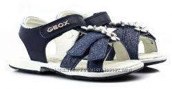 Распродажа Geox оригинал легчайшие кожаные мегаудобные сандалии 21-22-23р.