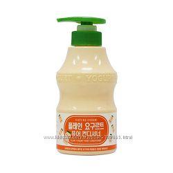 Йогуртовый кондиционер для волос Welcos Kwailnara Plain Yogurt Pure Condit