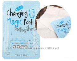 Носочки для пилинга TonyMoly Changing U Magic Foot Peeling Shoes