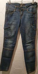 Джинсы с карманами, 27-28 размер