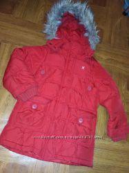 Шикарная  куртка пальто 3-5лет 104-110см