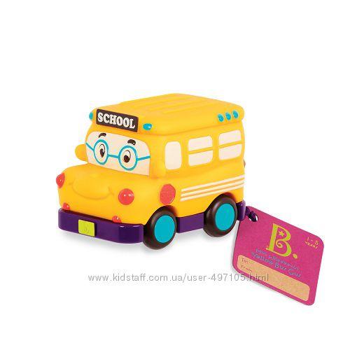 Машинка инерционная серии Забавный автопарк - Школьный автобус