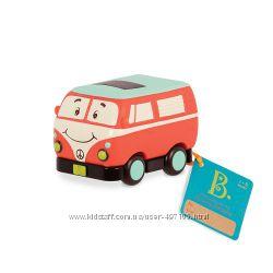 Машинка инерционная серии Забавный автопарк - Ретро автобус