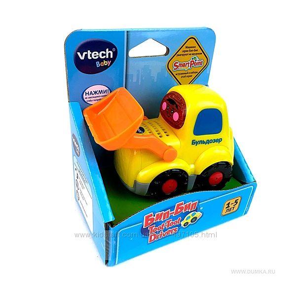 Развивающая игрушка серии Бип Бип - Бульдозер Vtech