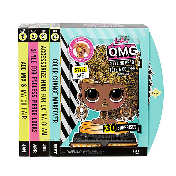 Кукла манекен L. O. L SURPRISE серии O. M. G. - Королева Пчелка