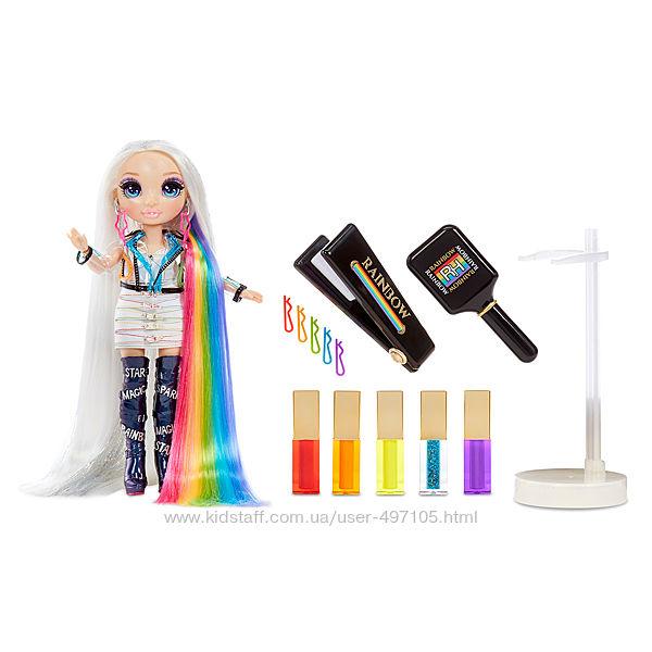 Кукла Rainbow High  Стильная прическа рейнбо студия прически