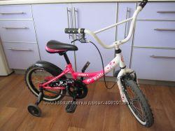 Детский велосипед для девочки от 4-6 лет