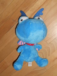 Мягкая игрушка Доктор Плюшева, бегемот Хэлли, динозавр Стаффи DISNEY с Докт