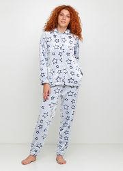 Пижама, костюм домашний, велсофт