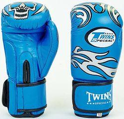 Боксерские перчатки для бокса Twins Твинс Натуральная кожа