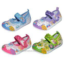 Туфельки, мокасины, тапочки Super Gear для девочки, 20-25 размер